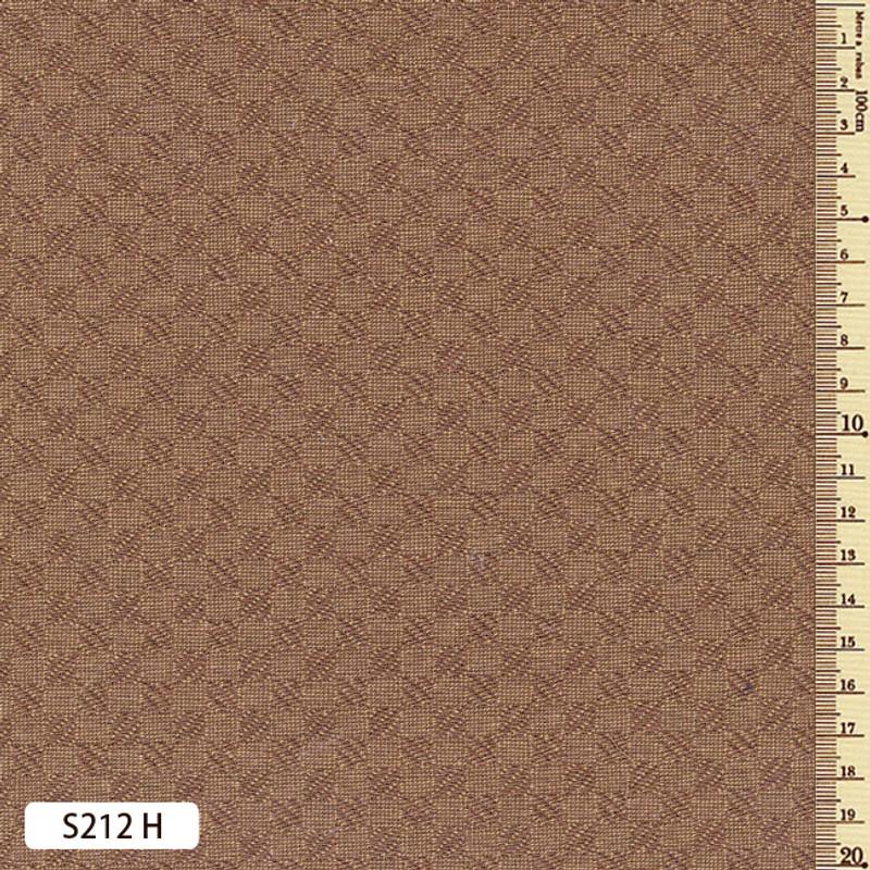 Sakizome Momen Fabric Square Check S212H