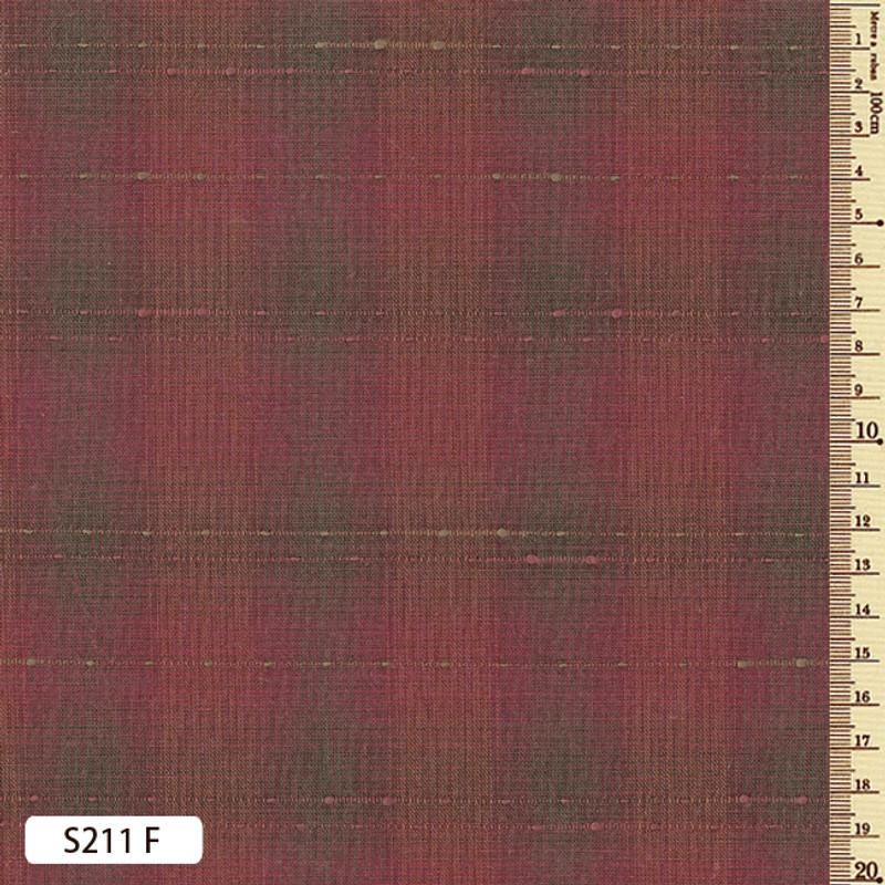 Sakizome Momen Fabric Running Stitch S211F
