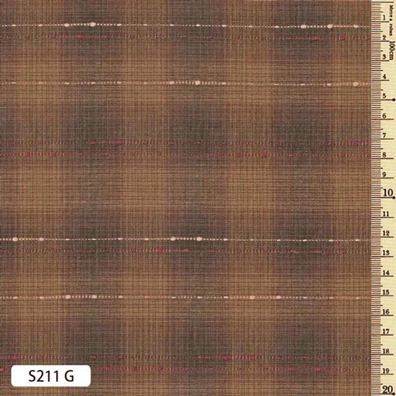 Sakizome Momen Fabric Running Stitch S211G