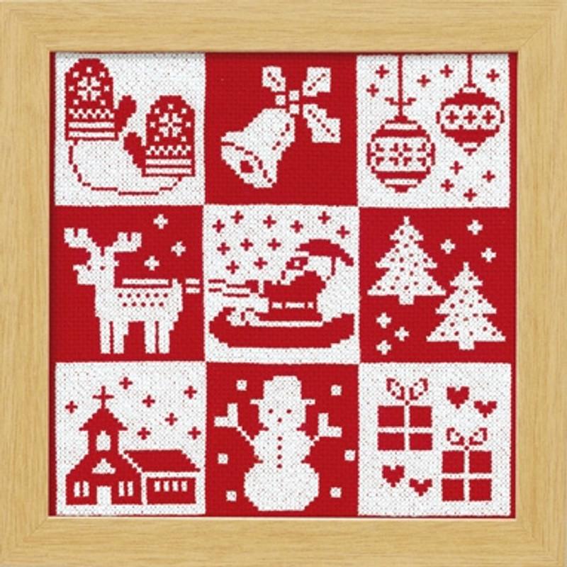 Festive Christmas Cross-stitch X-102