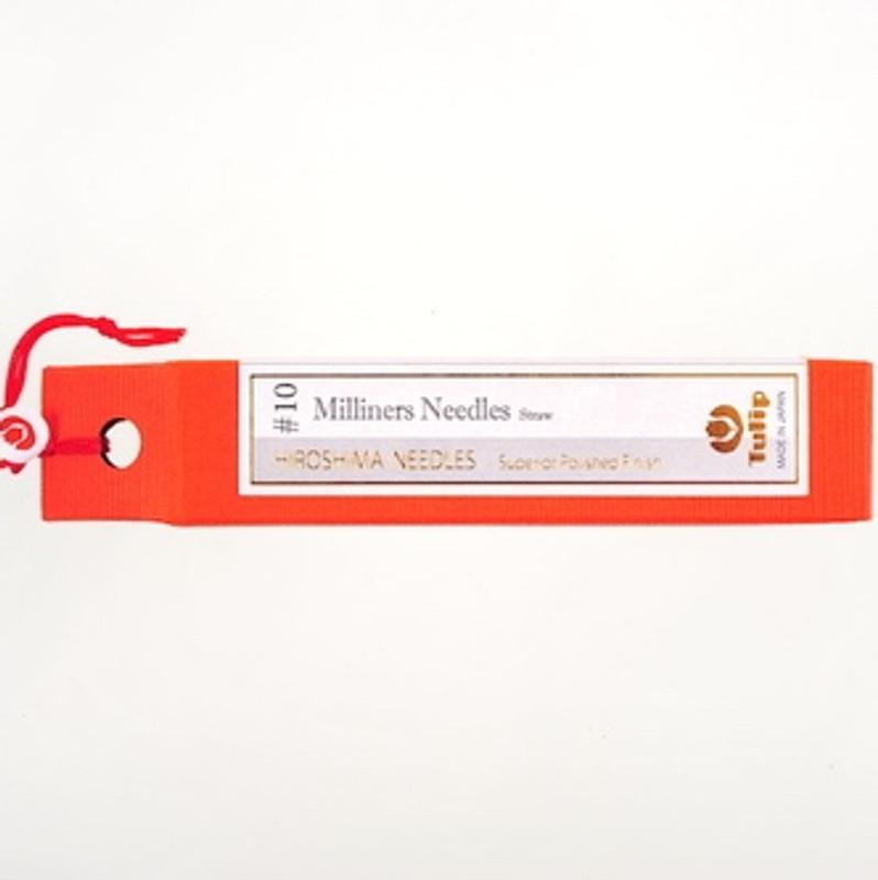 Milliners Needles Straw #10 Big Eye THN-093e