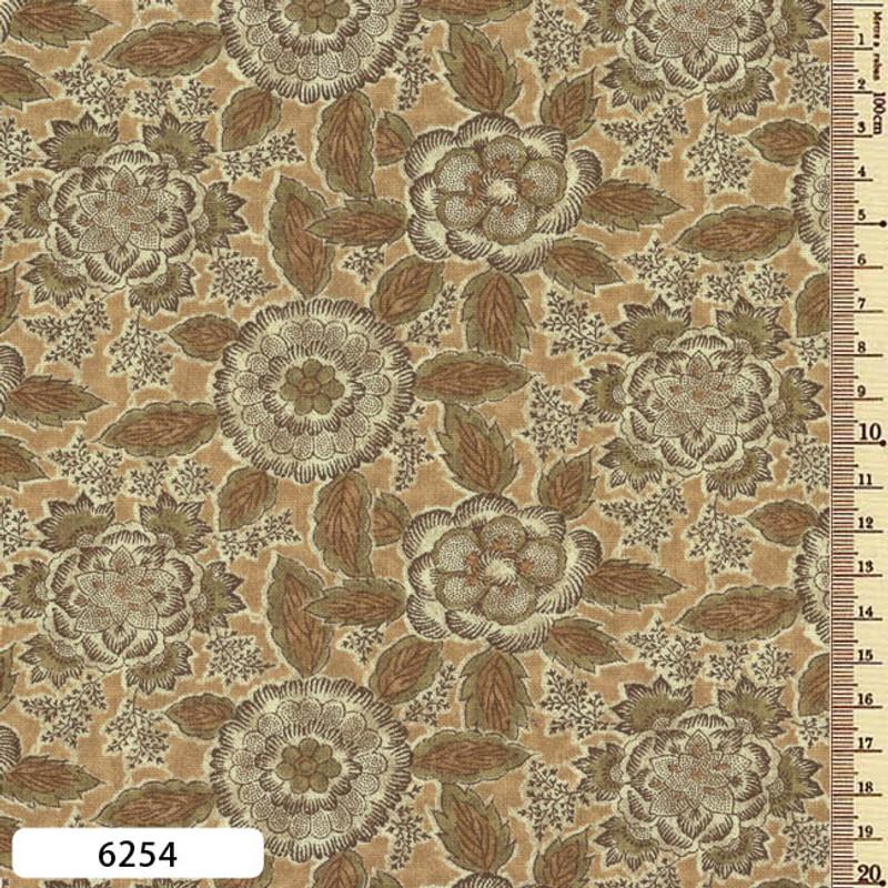 Printed Cotton Fabric Sarasa SAR-6254