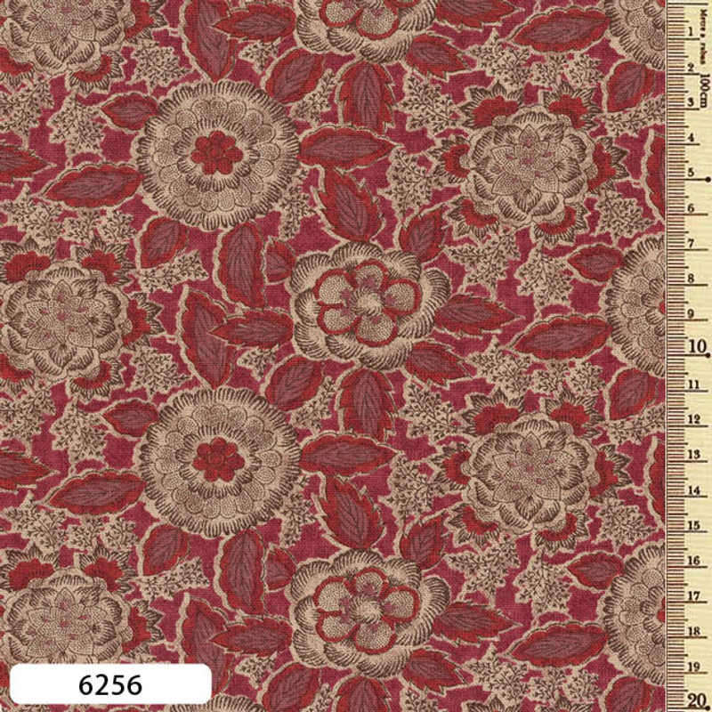 Printed Cotton Fabric Sarasa SAR-6256