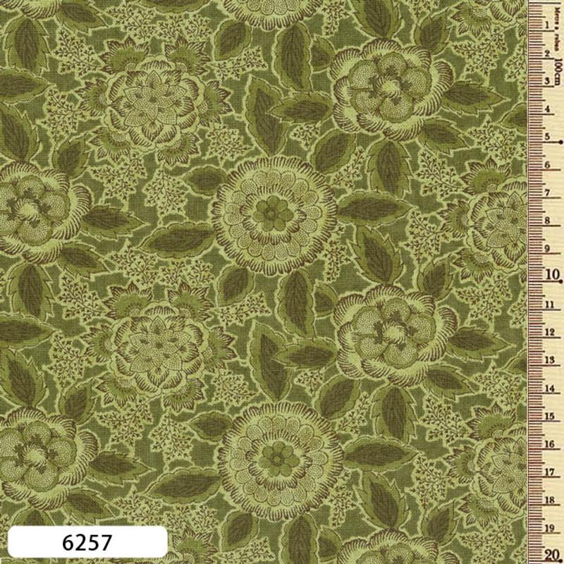 Printed Cotton Fabric Sarasa SAR-6257
