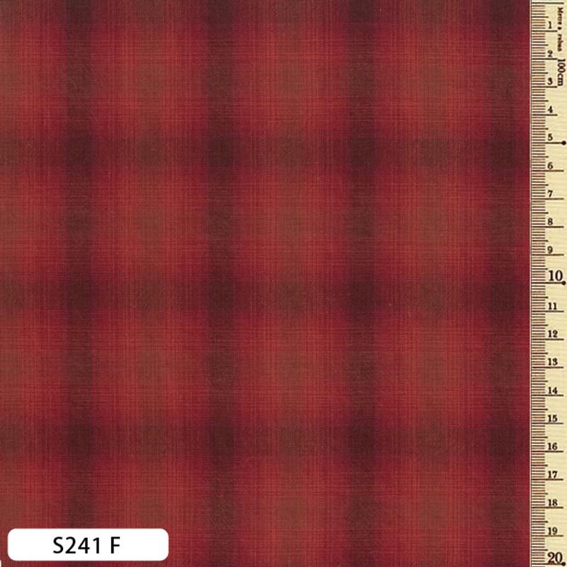 Sakizome Momen Fabric Checks S241F