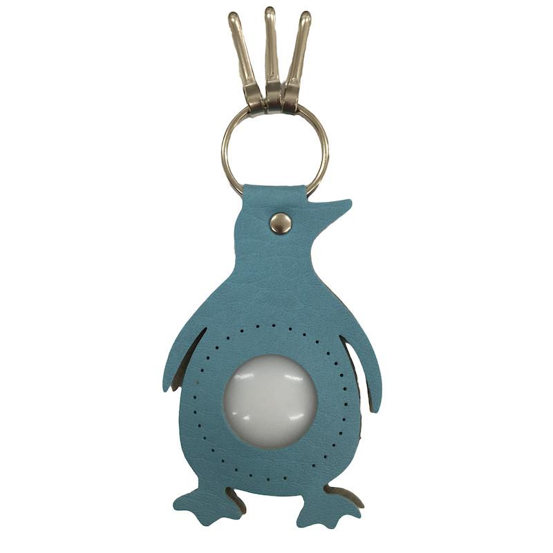 Penguin Keyring Light Blue BA-23S-18