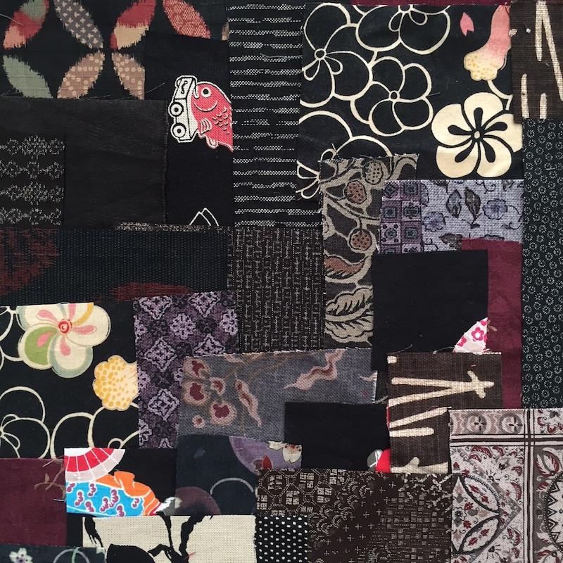 Boro Inspired Fabric Pack Black FP-BR21
