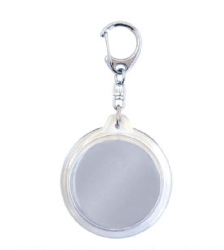 2 x Round Key Ring Body K-00