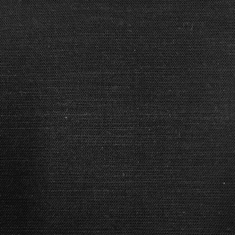 Takumi Cotton Fabric Plain Black 11N-32A