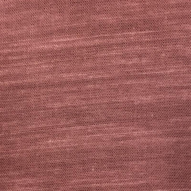 Takumi Cotton Fabric Plain Red Earth 11N-32R
