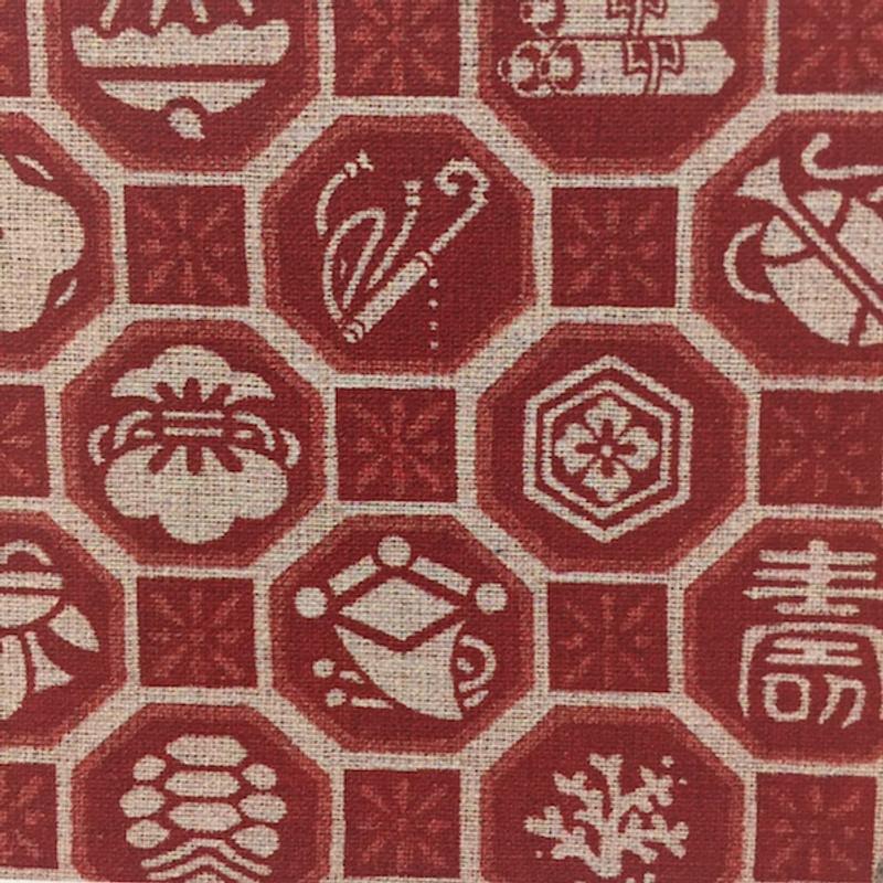 Takumi Printed Cotton Fabric 14N-5SR