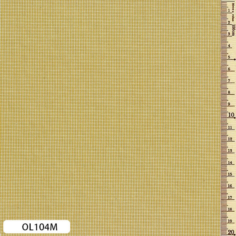 Sakizome Momen Fabric Original Sand OL104M