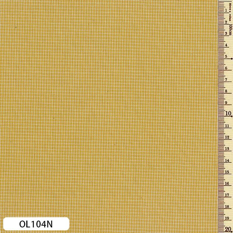 Sakizome Momen Fabric Original Wattle OL104N