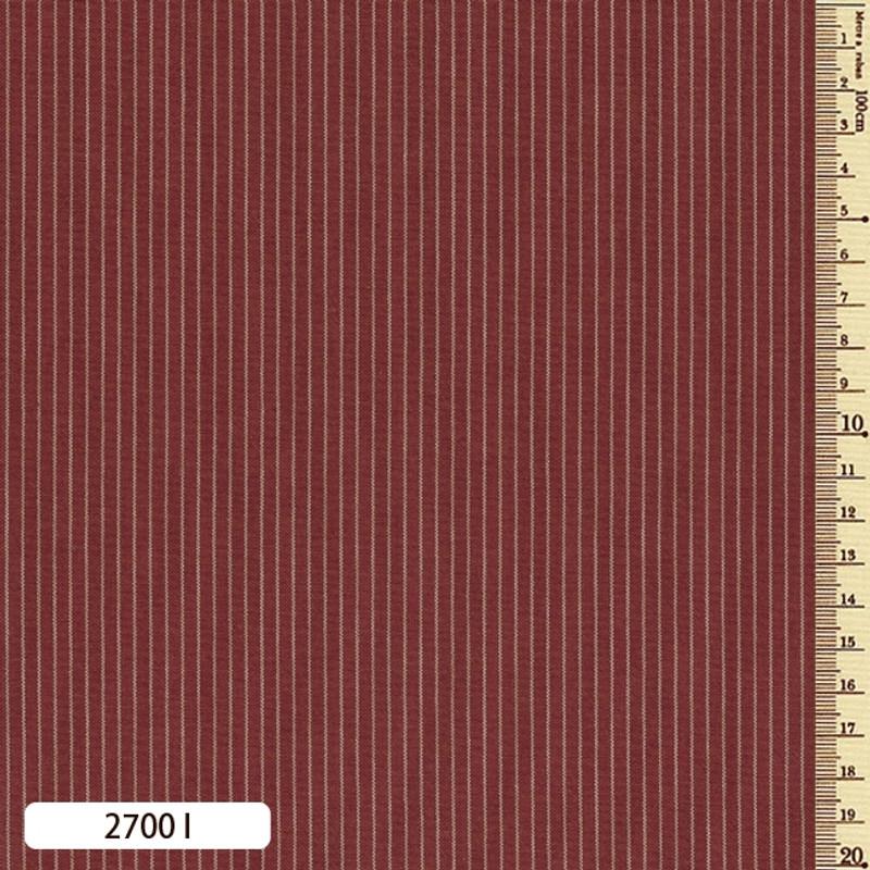 Woven Striped Cotton Thin Rust 2700I