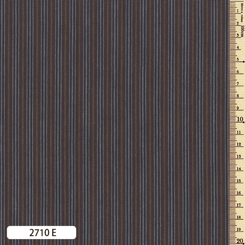 Woven Striped Cotton Thin Brown/Charcoal