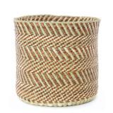 Largesse large Maila milulu basket woven in Tanzania