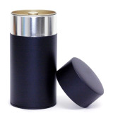 Largesse stainless steel canister with airtight cap handmade in Japan