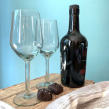 Port glasses made from 100% recycled glass in Eswatini