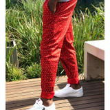 Largesse unisex zoomwear cotton pants made in South Africa to fight malaria