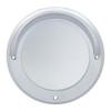 "Chrome Plastic 4"" Mirror Bezel"