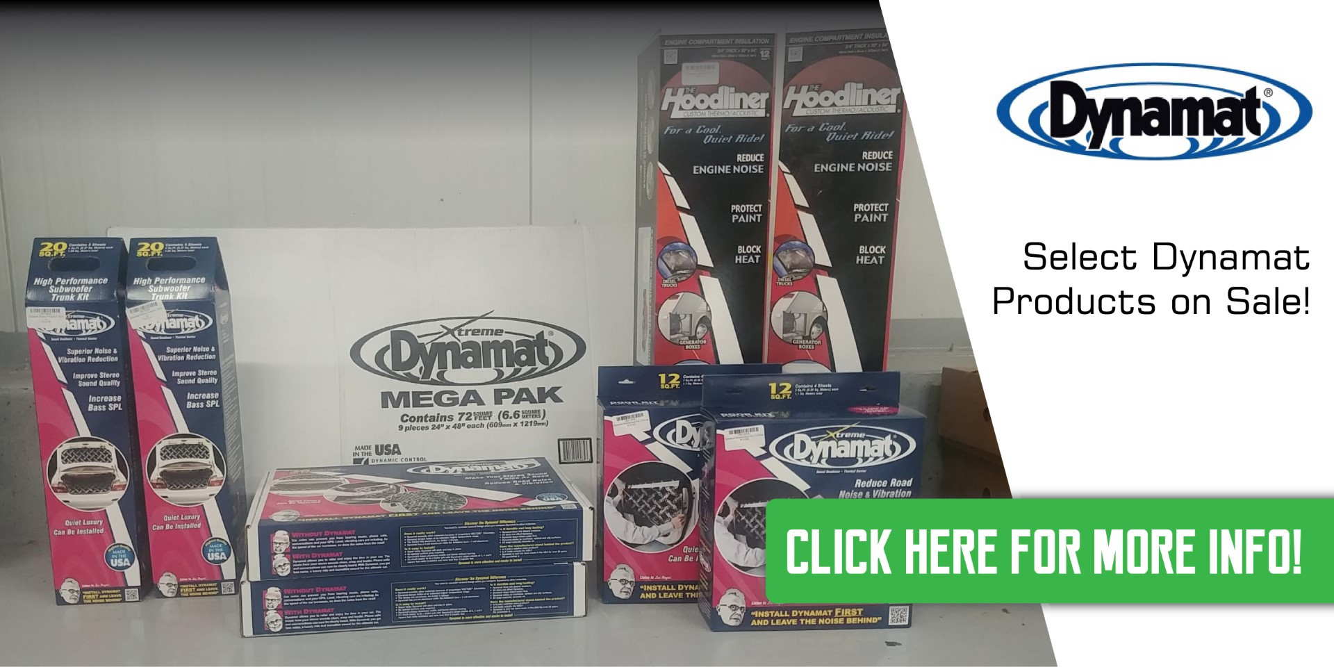 Dynamat Products