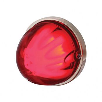 "9 Led Dual Function ""Glo"" Watermelon Light - Flush Mount - Red Led"