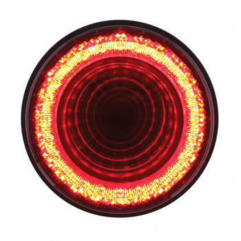 """24 LED 4"""" """"MIRAGE"""" Stop, Turn & Tail Light - Red LED"""
