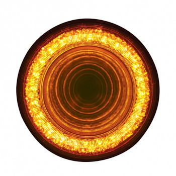 "24 LED 4"" ""MIRAGE"" Stop, Turn & Tail Light - Amber"