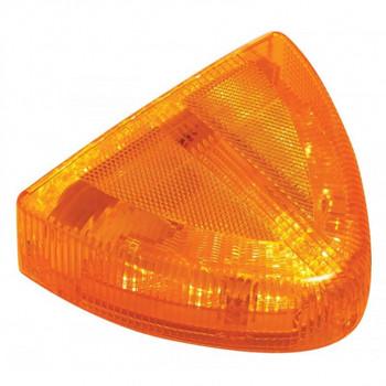 30 Led Peterbilt Front Turn Signal Light - Low Profile, Amber/Amber Lens