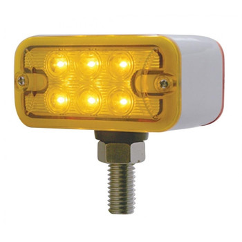 Led T-Mount Dual Function Double Face Light - Amber/Red