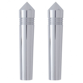Chrome Peterbilt Long Pointed Switch Extension (2/Pack)