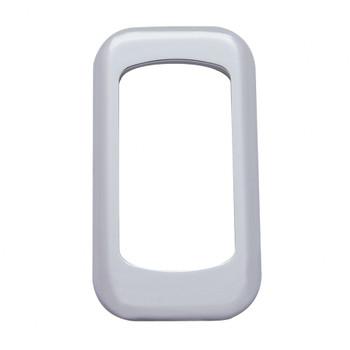 (3/Card) Chrome Plastic Rocker Switch Cover