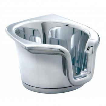 Chrome Plastic 2006+ Peterbilt Cup Holder Insert
