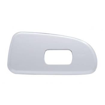 Chrome Plastic 2006+ Peterbilt Window Switch Trim - Passenger Side W/ 1 Opening