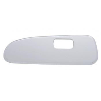Chrome Plastic 2006+ Peterbilt Window Switch Trim - Driver Side W/ 1 Opening