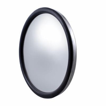 "Stainless 8 1/2"" Convex Mirror - 150R - Center Stud"