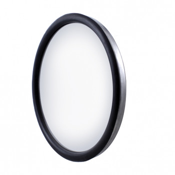 "Stainless 8 1/2"" Convex Mirror - 320R - Offset Stud"