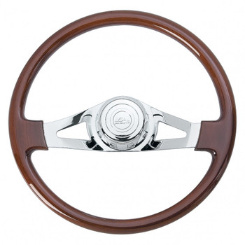 "18"" Two Chrome Spoke Steering Wheel - Pb 1998-2005 / Kw 2001-2002"