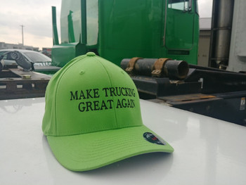 """Make Truck Great Again"" FlexFit Cap"