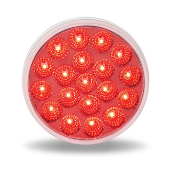 """4"""" Anodized Dual Revolution Red Stop/Turn/Tail and Reverse LED"""
