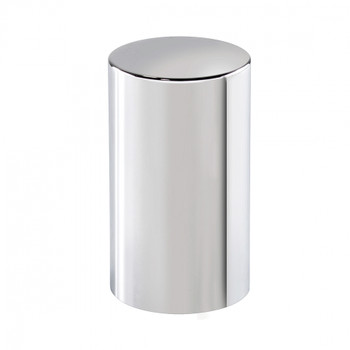 "33mm x 3-1/2"" Chrome Cylinder Nut Cover - Push-On (60 Pack)"