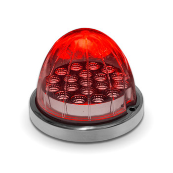 Dual Revolution Red/White Watermelon LED (19 Diodes)