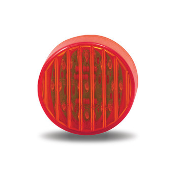 """2"""" Round Red Ribbed LED (9 Diodes)"""""""