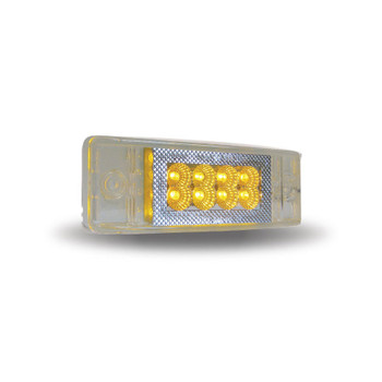 "2"" X 6"" Multi-Directional Amber Trailer LED (24 Diodes)"""