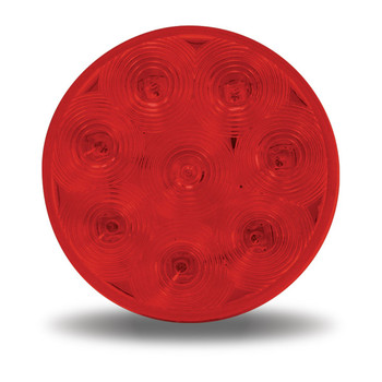 "4"" Economy Red Stop, Turn & Tail LED (8 Diodes)"