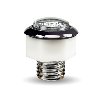 Mini Button Red LED with Reflector (1 Diode)