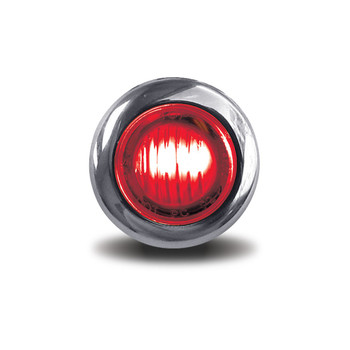 Mini Button Red LED