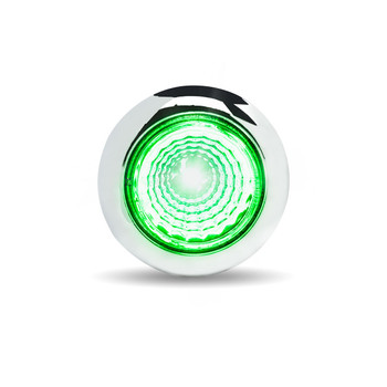 Mini Button Dual Revolution LED with Reflector (1 Diode)
