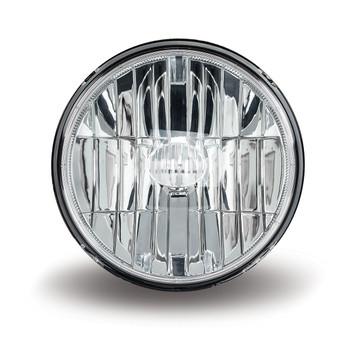 "7"" Round LED Headlight Combo - 580 Lumens (4 Diodes)"
