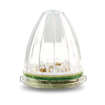 Peterbilt Bullet Cab Clear Amber LED (19 Diodes)